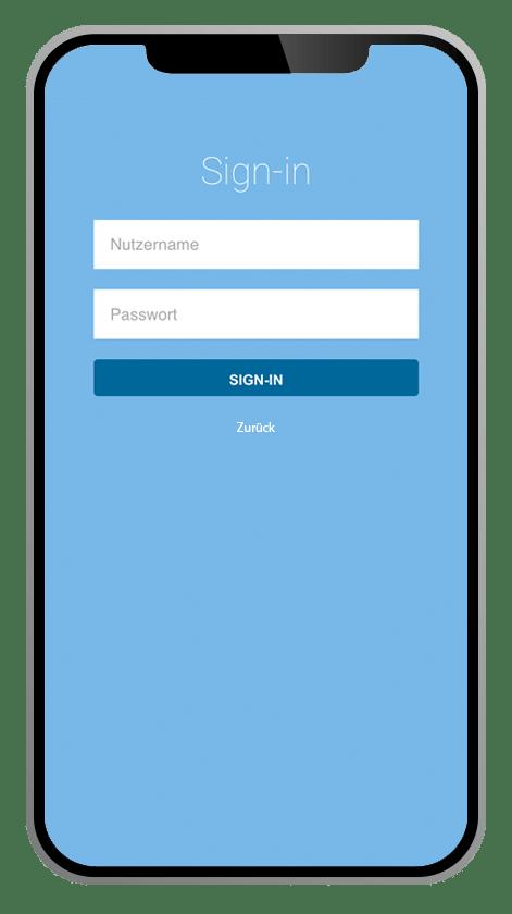ALS-App Sign-in