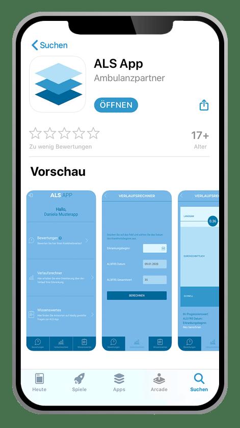 ALS-App Appstore