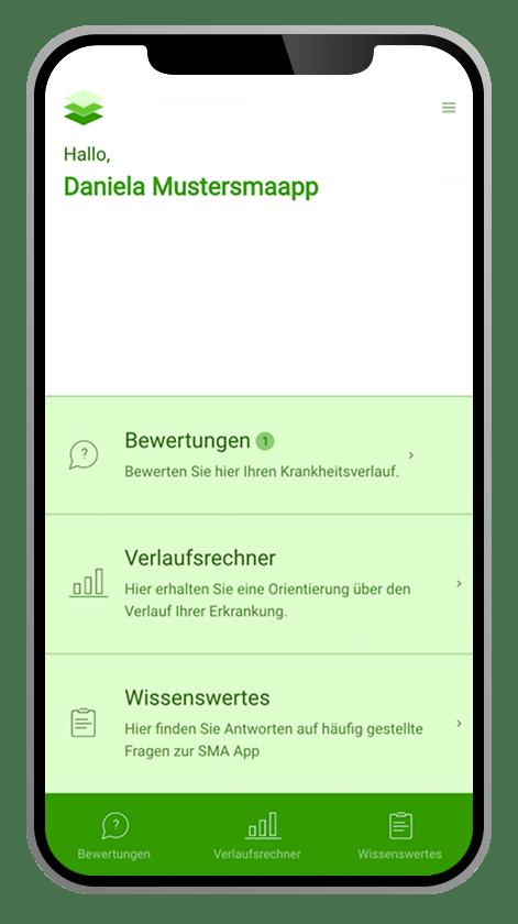 SMA-App Home