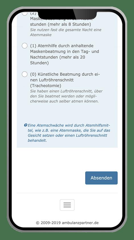 SMA-App survey