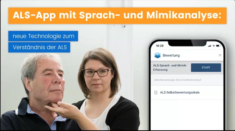 Videotutorial: Sprach- und Mimikanalyse über die ALS-App