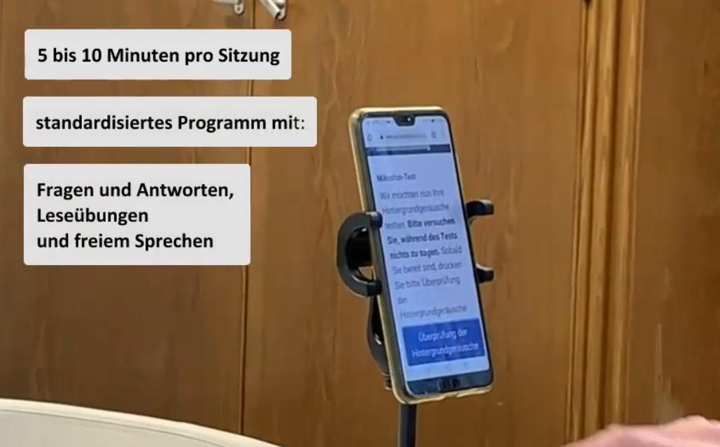 mobile ALS-App mit Sprach- und Mimikanalyse